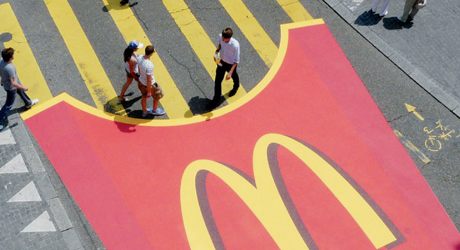 street marketing mcdonals