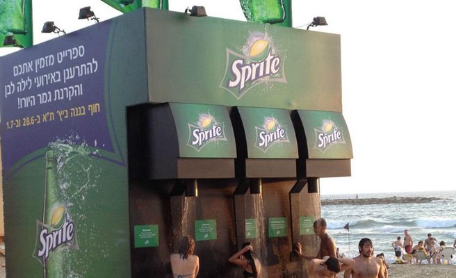 street marketing sprite