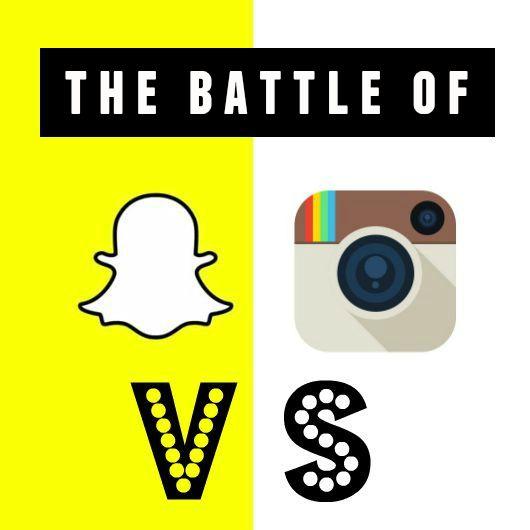 instagram vs dnapchat
